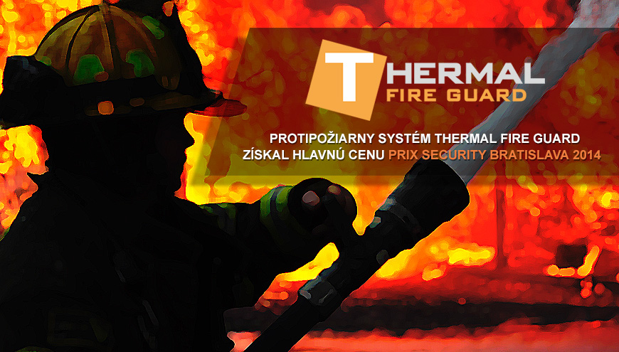 Thermal Fire Guard získal cenu na Security Bratislava