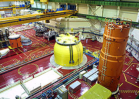 inside of nuclear powerplant